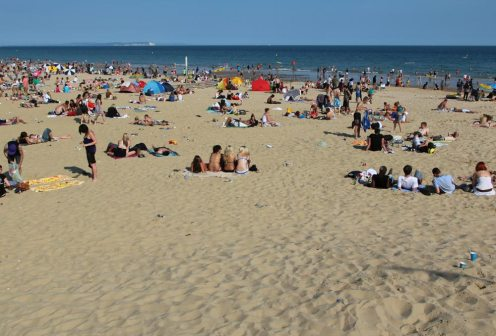 East Cliff Beach, Bournemouth