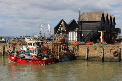 Fishing boats, Lisa Marie and Charlie Boy, Whitstable Harbour, Whitstable