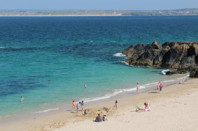 Hayle, from Porthgwidden Beach, St. Ives