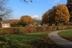 Mansfield Road Recreation Ground and Memorial Garden, Eastwood