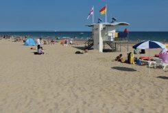 RNLI Lifeguards, Durley Chine Beach, Bournemouth