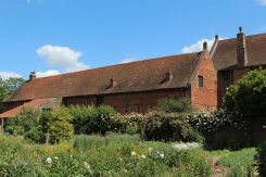 Stable block, from the Tudor Walled Garden, Osterley Park and House, Isleworth