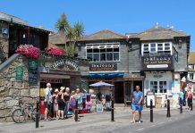 The Balcony Bar and Kitchen, Wharf Road, St. Ives