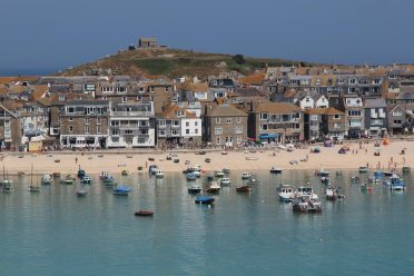 The Island, from Malakoff Gardens, St. Ives