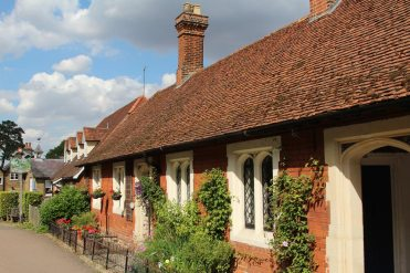 Almshouses, Much Hadham