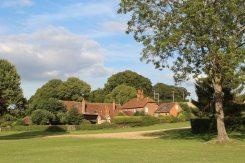 Cottages, riverside, Remenham