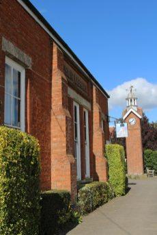 Village Hall and Clock Tower, East Claydon and Botolph Claydon