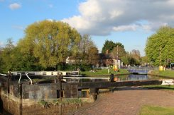 Aldermaston Lock, Kennet and Avon Canal, Aldermaston Wharf