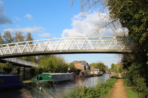 Footbridge 28A, Kennet and Avon Canal, near Aldermaston Wharf