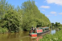 The Rose of Hungerford, Kennet and Avon Canal, between Hungerford and Dun Mill Lock