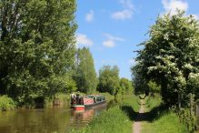 The Rose of Hungerford, Kennet and Avon Canal, near Hungerford