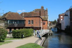 Town Bridge and Lock Island, Kennet and Avon Canal, Newbury
