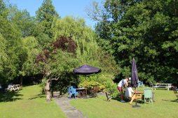 The Dundas Arms garden, Kintbury