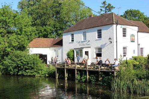 The Dundas Arms, Kennet and Avon Canal, Kintbury