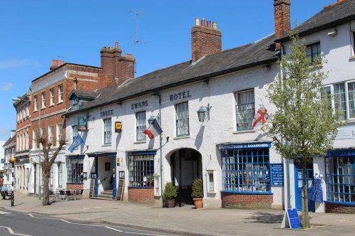 Three Swans Hotel, High Street, Hungerford