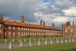 Barrack Block, Grace and Favour Apartments, Hampton Court Palace