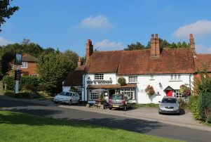 Fox and Hounds pub, Chalfont St. Giles