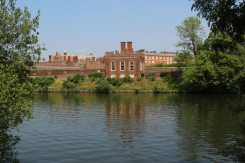 Hampton Court Palace, from Cigarette Island