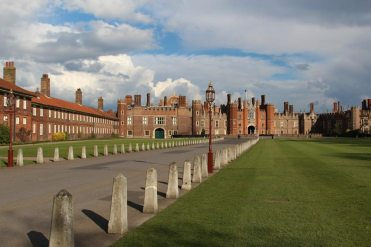 Outer Green Court, West Front, Hampton Court Palace