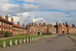 Seymour Gate and Main Entrance, West Front, Hampton Court Palace