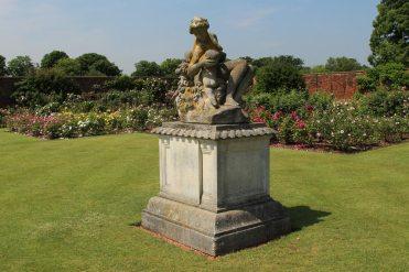 Statue, Abundance, Rose Garden, Tiltyard, Hampton Court Palace