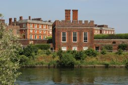 The Banqueting House, Hampton Court Palace, from Cigarette Island