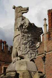 The Greyhound of Richmond, The King's Beast, Hampton Court Palace