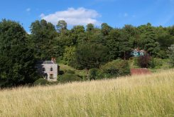 Flint Cottage and George Meredith's Chalet, Box Hill