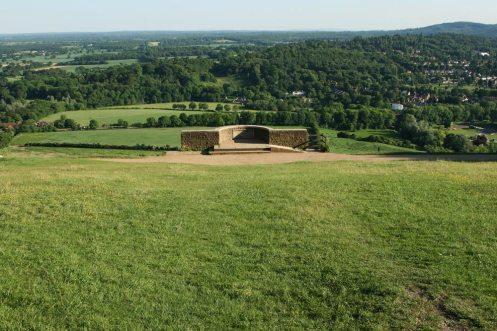 Salomons Memorial in 2009, before restoration in 2014, Box Hill
