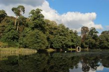 Boat House, the Lake, Painshill Park, Cobham