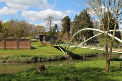 Bridge to entrance, Painshill Park, Cobham