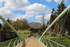 Bridge to Visitor Centre and Shop, Painshill Park, Cobham