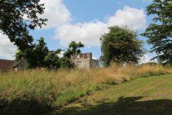 Farnham Castle, from Farnham Park, Farnham
