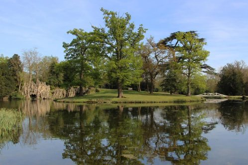The Grotto and Grotto Island, Painshill Park, Cobham