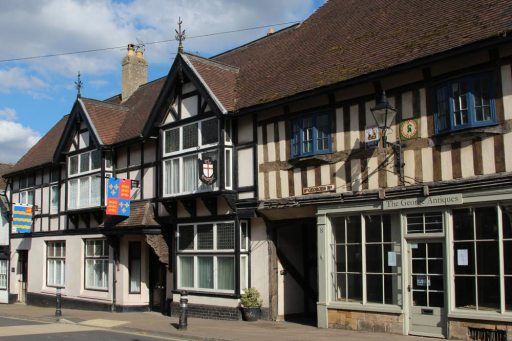 The George Antiques, St. Georges House, High Street, Winchcombe