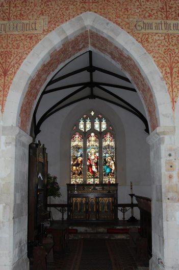 Chancel, St. Nicholas Church, Steventon