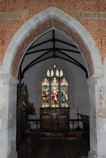 Chancel, St. Nicholas Church, Steventon
