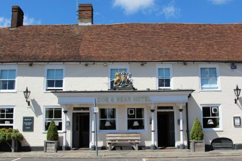 Dog & Bear Hotel, Lenham