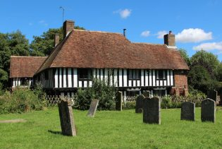 Forge House, from St. Mary's Churchyard, Lenham