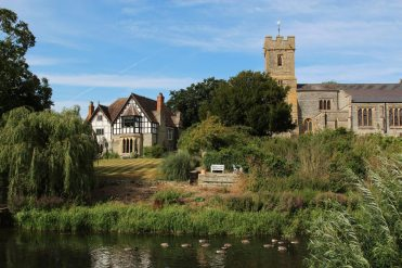 St. Laurence Church and The Old Vicarage, Bidford-on-Avon