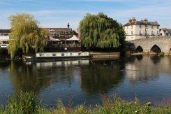 The Bridge Restaurant, River Avon, Bidford-on-Avon