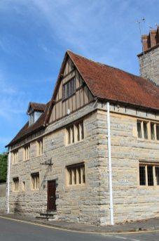 The Old Falcon Inn, where William Shakespeare drank, Bidford-on-Avon