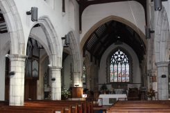The nave, St. Mary's Church, Chilham