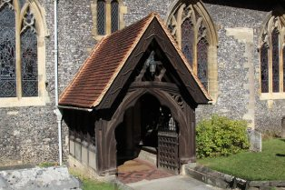 Porch, St. Andrew's Church, Sonning