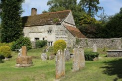 Abbey Guesthouse and Cerne Abbey Burial Ground, Cerne Abbas