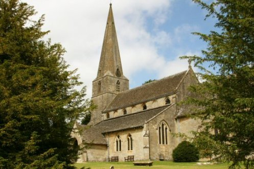 All Saints Church, Bisley