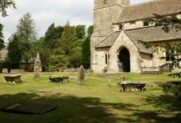 All Saints Churchyard, Bisley