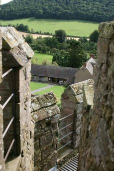 Battlements, South Tower, Stokesay Castle