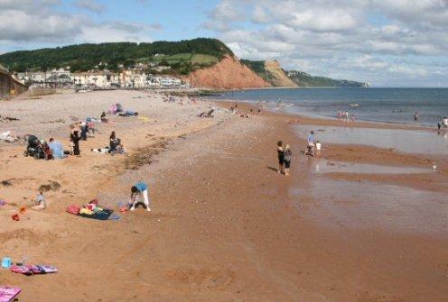 Beach, Sidmouth