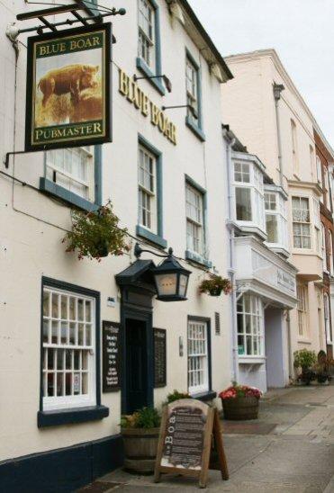 Blue Boar Inn, Mill Street, Ludlow